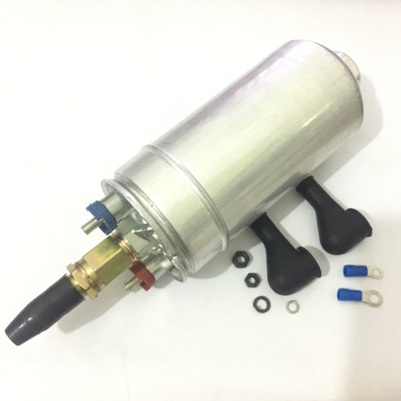 E85 High quality 0580254044 300LPH high performance high pressure fuel pump power flow 0580 254 044 fuel pump for BMW BENZ AUDI promotion lowest price high performance 12v electric fuel pump for jaguar color for head red black green