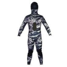 2016 Summer New Spearfishing Diving suit 7mm Neoprene Wetsuit Men 7mm WS-100-7-MC цена в Москве и Питере