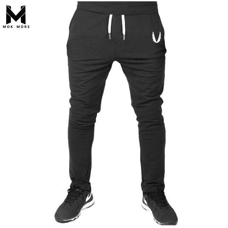 Hombres pantalones otoño 2018 nueva edición bordado Mens Sweatpants ocio cultiva su moralidad de los hombres
