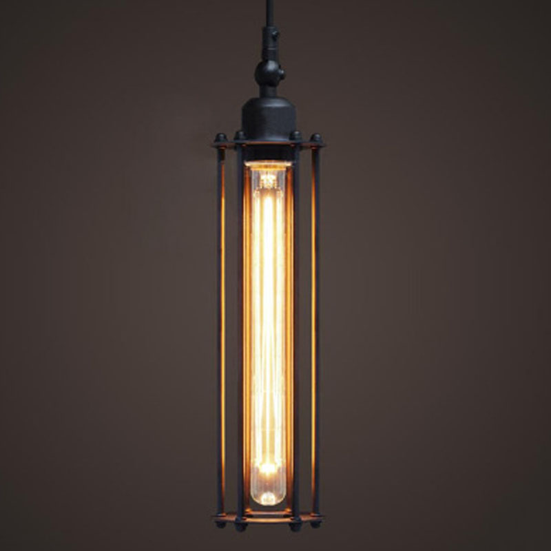 Фото T 2016 LOFT Retro American Industry Style Iron Pendant Light For Bar Coffee Shop Home Lighting Creative Lamps DHL Free. Купить в РФ