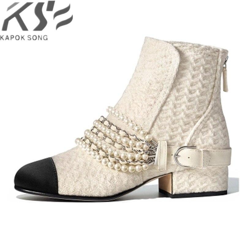 2018 Женские ботинки mixcolor роскошные дизайнерские модели из натуральной овчины кожаные ботинки женщин модное действительно кожаные туфли жен