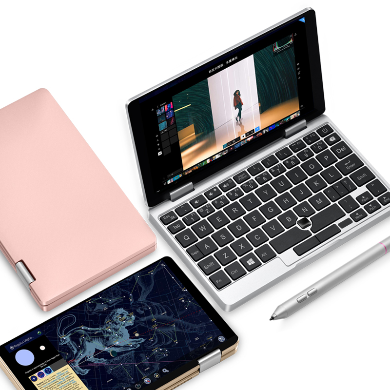 New 7Handheld Gaming Laptop Tablet PC Intel Core M3 7Y30 8G RAM 256G PCIE Fingerprint Recognition Mini PC Laptop Lisence Win10
