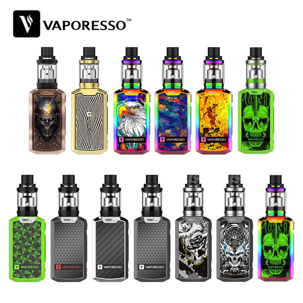 Halloween Color Vaporesso Tarot Nano Kit 80W Box Mod with VECO Vape Tank 2ML Atomizer EUC