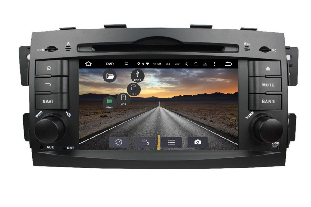 7 Quot Hd 1024 600 Android6 0 Car Radio Gps Navigation For Kia Mohave Borrego 2008 2009 2010 With 4g