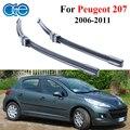 Oge pára wiper blades para peugeot 207 2006-2011 par 26 ''+ 17'' brisas de vidro da borracha de silicone car auto peças acessórios