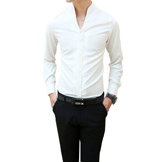 Tamaño Camisas Manga Hombres Los De Larga M Moda 3xl China P7wq64w 05bf178b6ee2