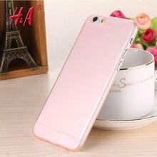 Чехол  для iPhone 6 плюс/5.5 S Прозрачный тонкий Мягкий пластик Бесплатная Доставка Мобильный Телефон Телефон случае