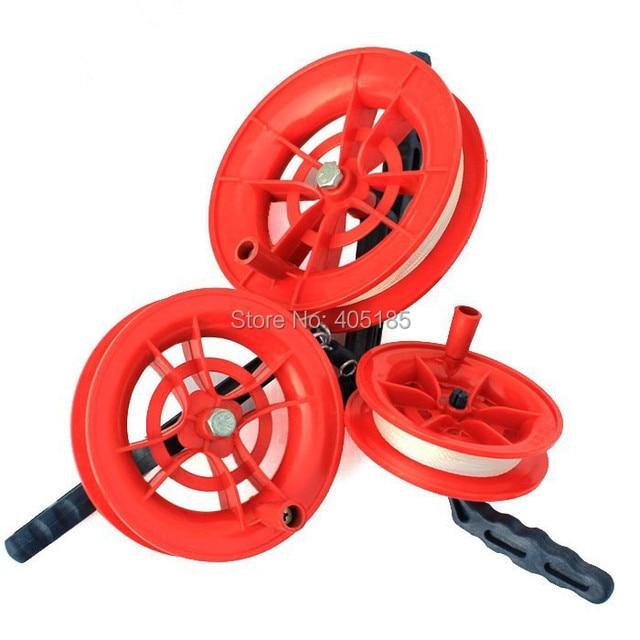 Free Shipping  Kite Flying tools Wheel Kite Winder /Handle with Line 12cm Diameter