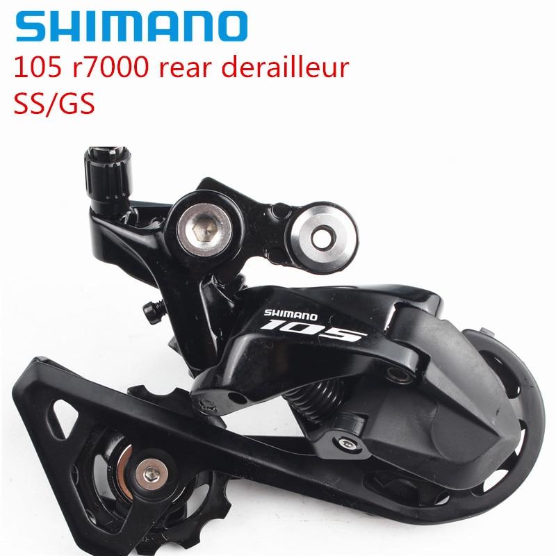 Shimano 105 R7000 задний переключатель, 11 скоростей, дорожный велосипед, SS, короткая клетка, GS, средняя клетка, Аксессуары для велосипеда, бесплатная...
