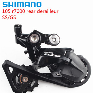 Shimano 105 R7000 Rear Derailleur 11 speed Road Bike bicycle SS Short Cage GS Medium Cage bike accessories free shipping(China)