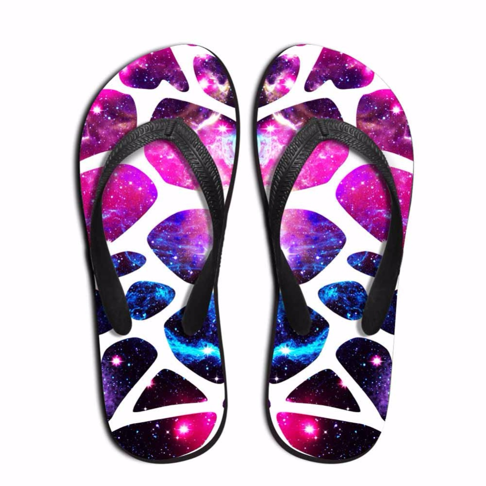 Noisydesigns Multi-color leopard zebra pattern Men custom flip flops - Men's Shoes - Photo 5