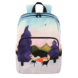 Image 3 - [NEW ARRIVAL] 2019 YIZISTORE original backpacks creative  school bags for teenagers and traveling in SCENERY 3(FUN KIK store)