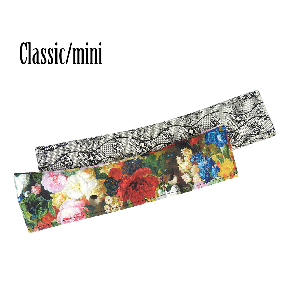 New Leather Trim Classic Mini Floral PU Trim Thin Decoration For Obag Handbag O Bag Body For Summer Autumn