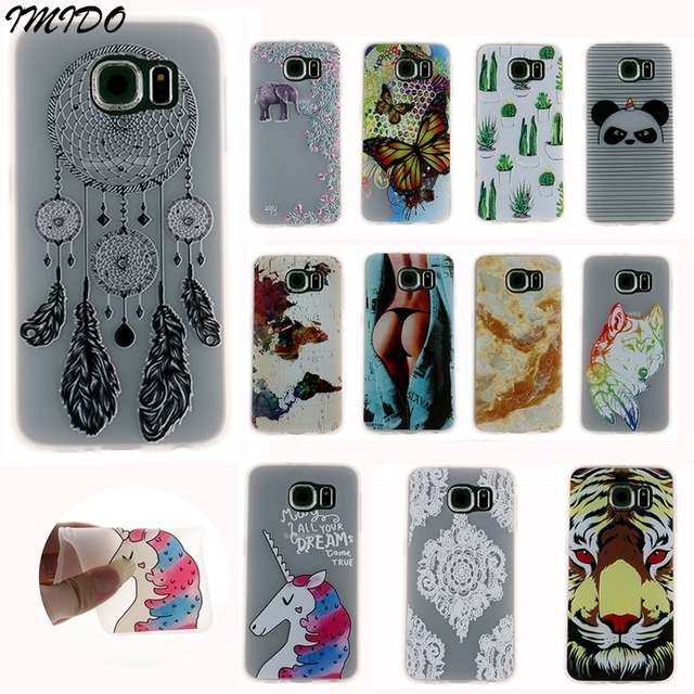 Cover SM-G920F Case for Samsung SM-G920F Case Samsung S6/S6edge Silicone Cover Samsung S6 edge Coque Galaxy SM-G925F Phone Case