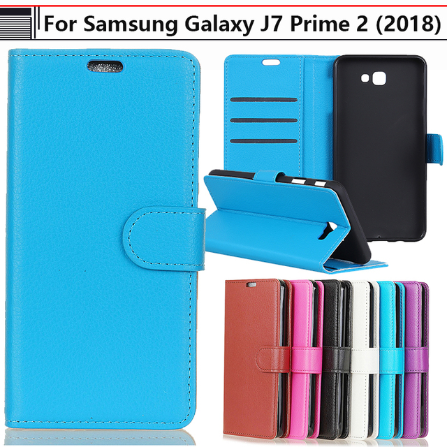 official photos b421e a4dbc US $4.19 |JURCHEN Phone Case For Samsung Galaxy J7 Prime 2 2018 SM G611F  Case Leather Wallet Flip Cover For Samsung Galaxy J7 Prime 2 Case-in Flip  ...