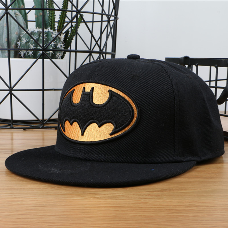 Top Selling black Baseball Cap Women Hats 2018 New Fashion Brand Batman Snapback Caps Men hip hop beisebol touca