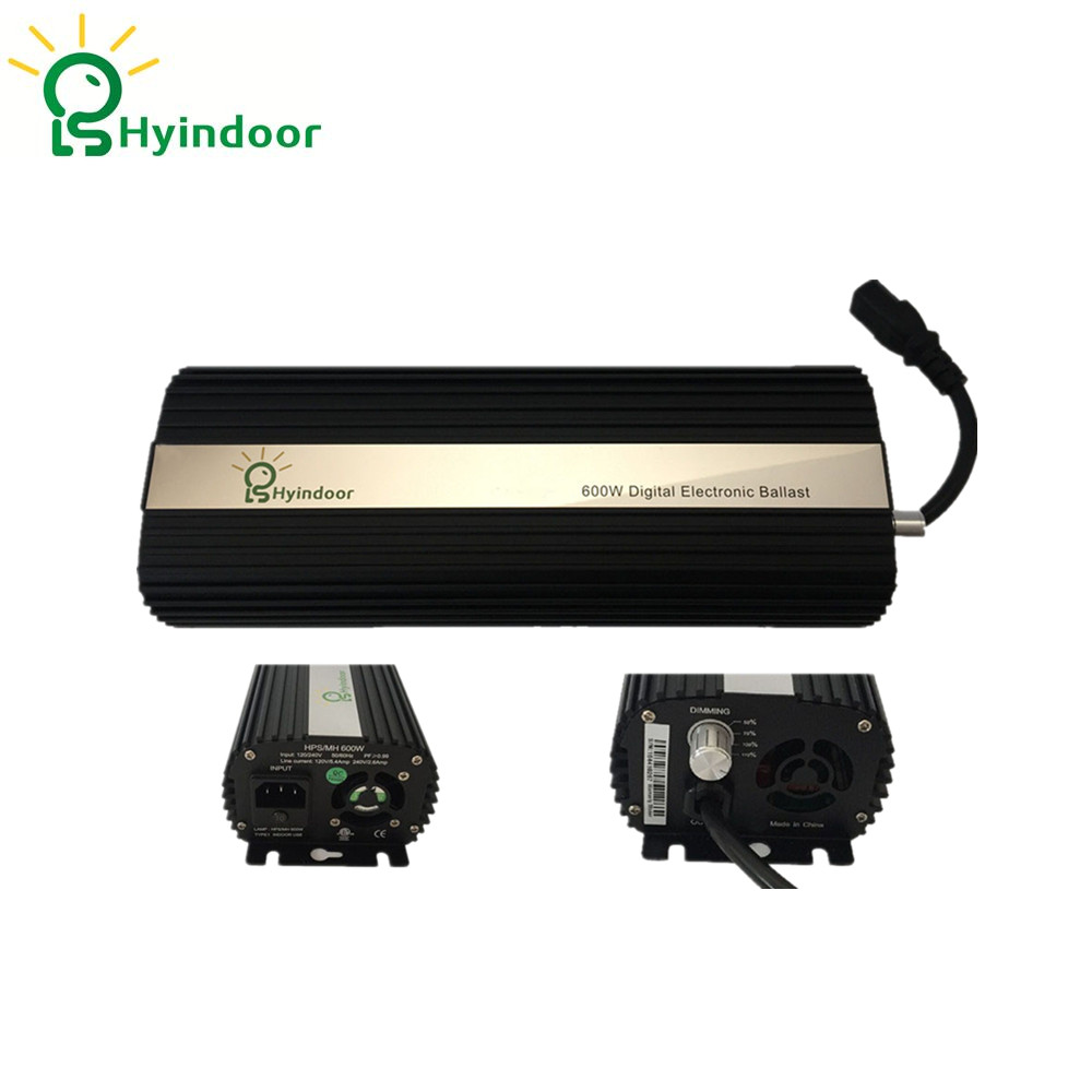 EU PLUG MH/HPS Aluminio Lamp Ballasts 600w Dimmable Electronic Ballasts Lighting Accessories