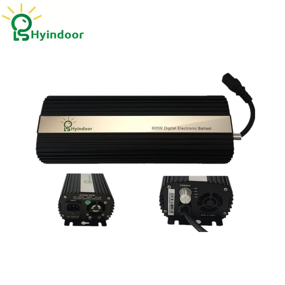 UE PLUG MH/HPS Aluminio Lampe Ballasts 600 w Dimmable Électronique Ballasts D'éclairage Accessoires