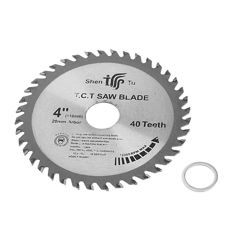 4 Inch 40T Circular Sawing Blade Wood Cutting Round Discs Sawing Cutter Tools L15