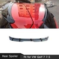 Углеродное волокно/абс задний спойлер на крышу заднее окно крылья для Volkswagen VW Golf 7 7,5 VII MK7 MK7.5 спойлер GTI R Rline 2014-2019