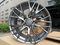 19/20 inch 5x120.7 Gunmetal Machine Face wheel rims W591