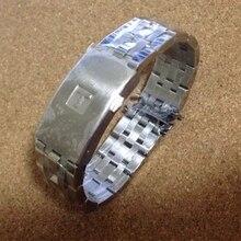 Высокое качество, 19 мм, 20 мм, PRC200, T17, T461, T014430, T014410, ремешок для часов, мужские полосы, прочные браслеты из нержавеющей стали, ремни