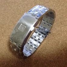 Hoge Kwaliteit 19 Mm 20 Mm PRC200 T17 T461 T014430 T014410 Horlogeband Horloge Onderdelen Mannelijke Strip Effen Rvs Armbanden bandjes