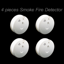 Wi-fi Smoke Temperature Detector 433MHz Smoke Alarm Warmth Alarm For Residence Alarm System