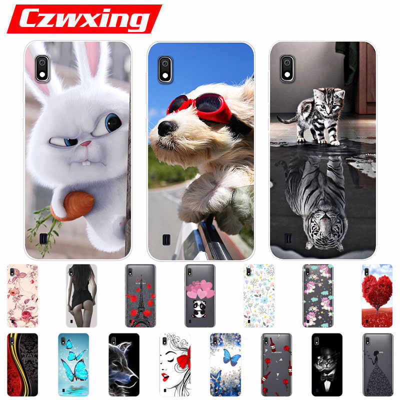 For Samsung Galaxy A10 Case Silicone TPU Protective Cover Phone Case For Samsung A10 A105F A105 A 10 SM-A105F A30 A50 Case Soft
