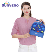Baby Thermos Bags Milk Food Insulation Bags Small Size Waterproof Bolso Maternal Crossbody Ice Cooler Lunch