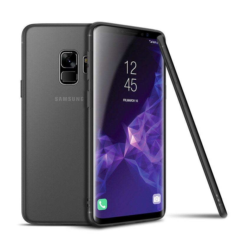 0 3mm Ultra Thin Matte Plastic Back Cover Case For Samsung Galaxy S9 S9 Plus Phone Case Fashion Case for Samsung S9 Plus in Fitted Cases from Cellphones Telecommunications