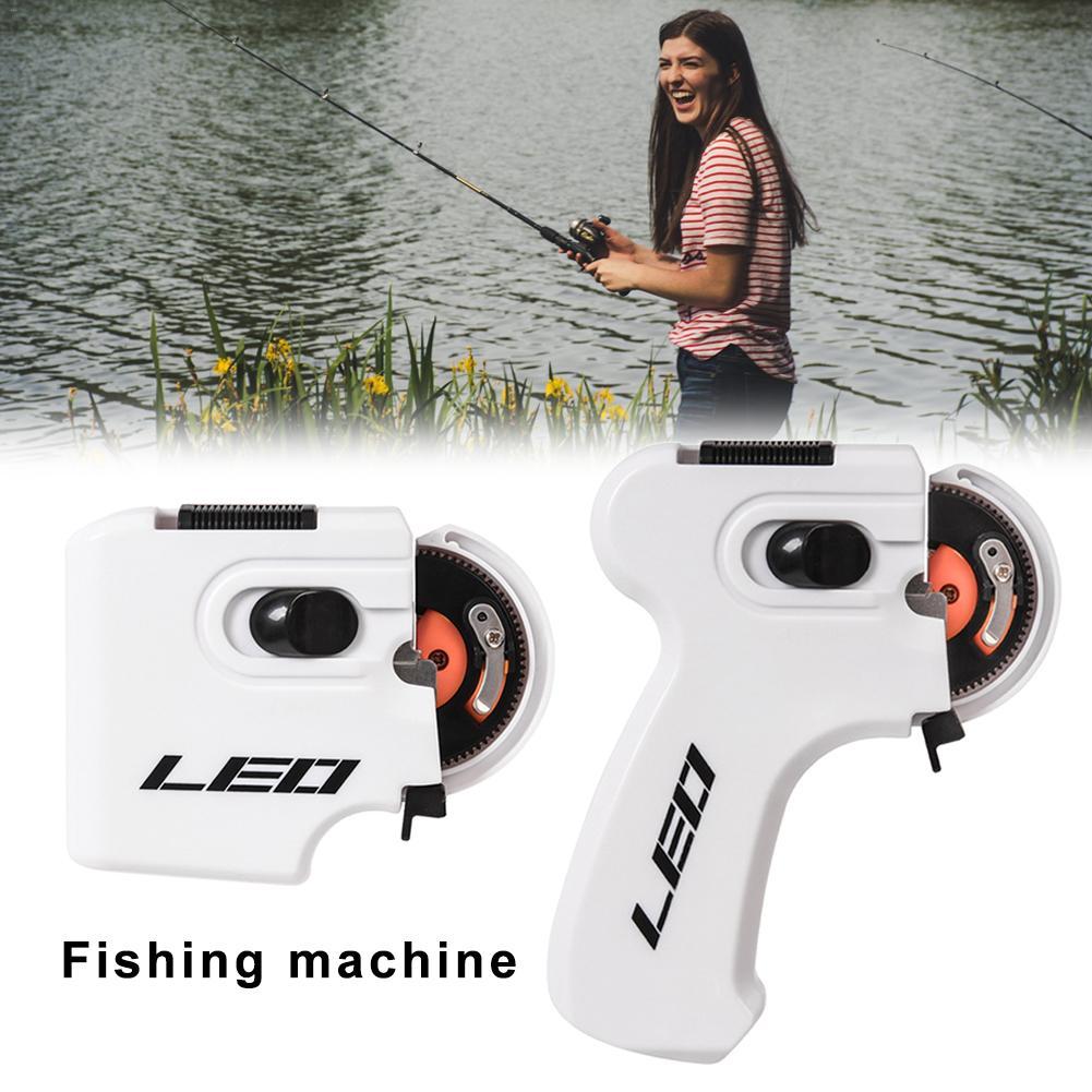 Portable Electric Automatic Tier Fast Fishing Hooks Line Tying Device Equipment Fishing Hook Knotting Tool Fishing Equipment 4