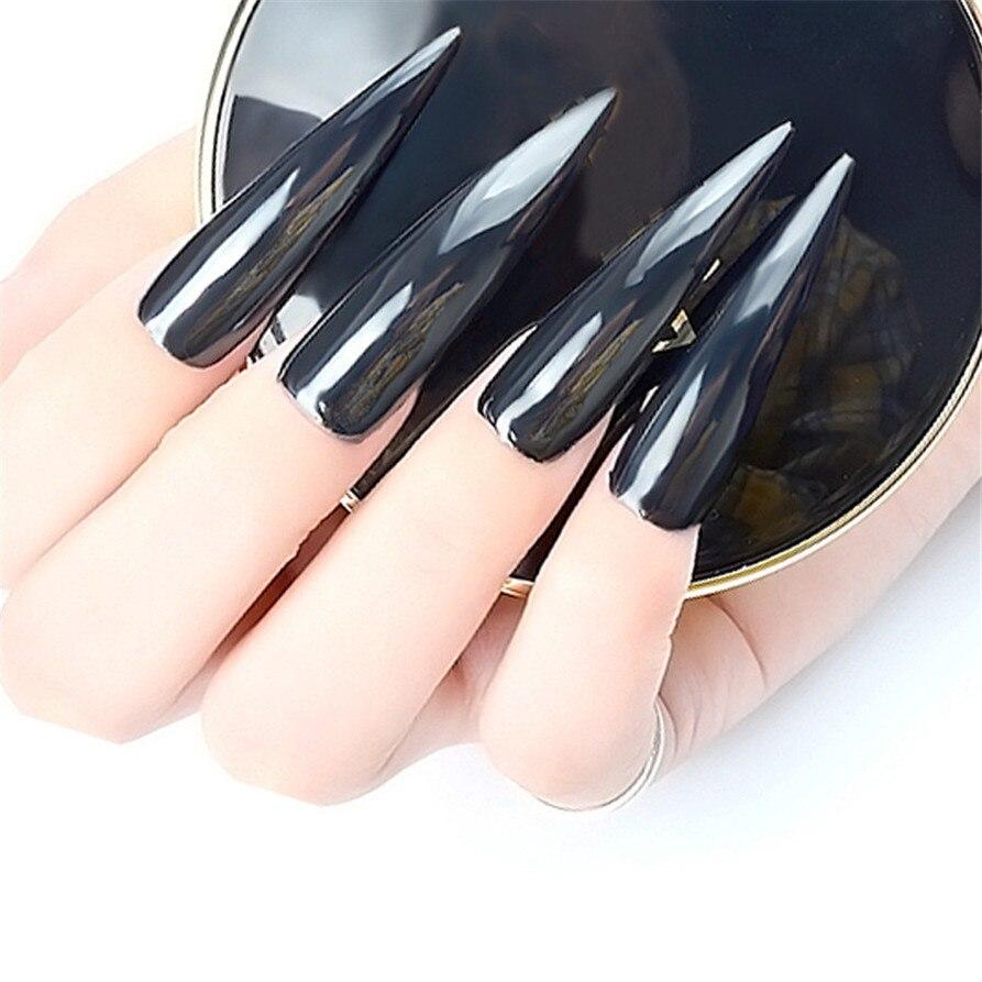 New Nail Powder Neon Mirror glitter Mirror Effect Rainbow Crystal ...