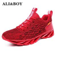 2019 New Arrival Trend Men Trainers Comfortable Men Shoes Sports Running Shoes For Adult Outdoor Brands Sneakers Big Size 39 45