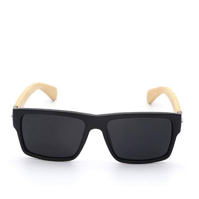 Spolaryzowane Okulary z Bambusa