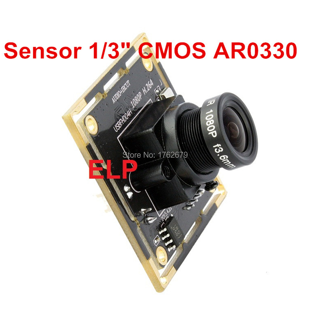 2MP FHD 1920x1080 H 264 30fps 6mm Lens Security Video CCTV Usb Surveillance Camera For Industrial