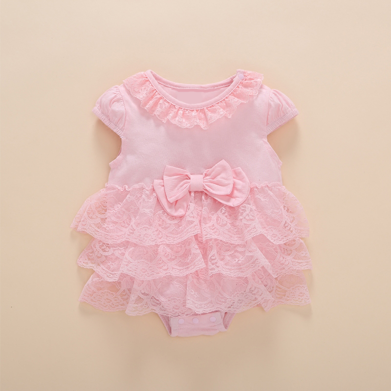 864bd7d0c10 Baby Girl Bodysuits my First Birthday Gift Baby Body Newborn Girls Birthday  0 3 6 Months Summer Lace Tulle Ruffle Clothes