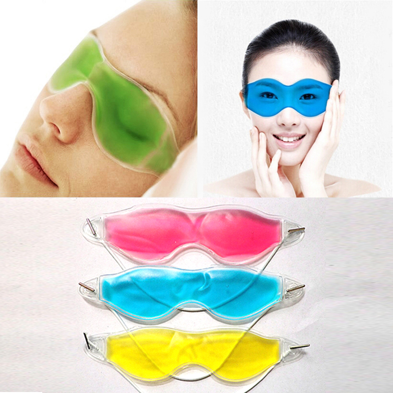 BEAUTYTIME CO.,LTD Summer Essential Beauty Ice Goggles Remove Dark Circles Relieve Eye Fatigue Gel Eye Masks Color Random RP1-5