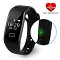K18s nueva pulsera inteligente con smart watch pulsera perseguidor de la aptitud del ritmo cardíaco monitor de oxígeno de la sangre para android teléfono