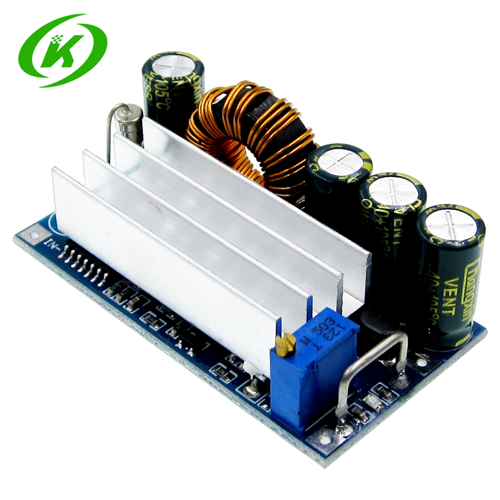 цена на Automatic Step Up Down DC Power Supply AT30 Converter Buck Boost Module Replace XL6009 4-30V To 0.5-30V