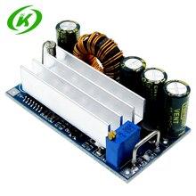 자동 스텝 업 다운 dc 전원 공급 장치 at30 컨버터 벅 부스트 모듈 xl6009 4 30 v ~ 0.5 30 v 교체
