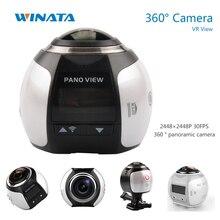 4พัน360กล้องขนาดเล็กWifi 360องศากีฬาแอ็คชันกล้อง2448*2448อัลตร้าHDพาโนรามากีฬาการขับรถVRกล้อง