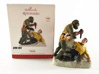 Box Toy Original Garage Kit Classic Magic Sound Toy STAR TREK Captain James Arena Action Figure
