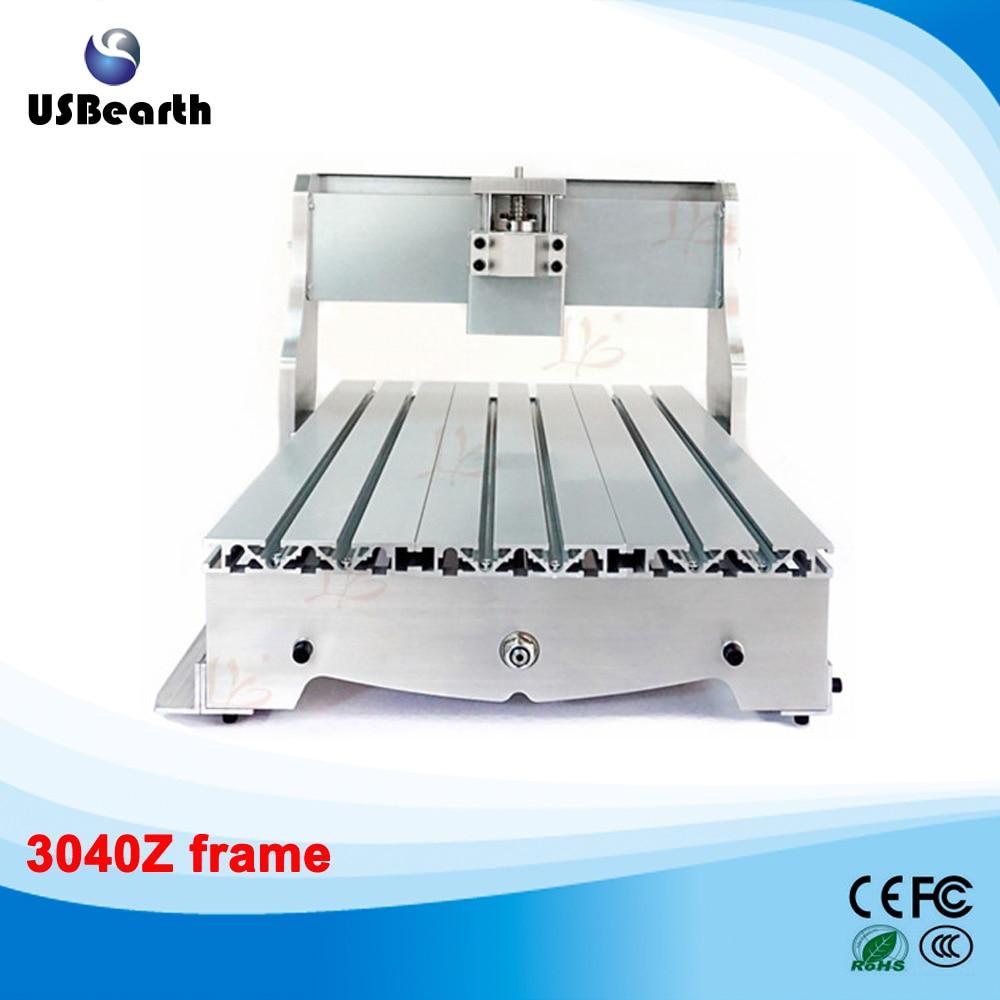 3040 DIY CNC frame lathe kit of milling/engraving machine with ball screw eur free tax cnc 6040z frame of engraving and milling machine for diy cnc router