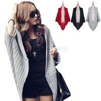 2 Pcs Lots Women S Coats 2014 Thicken Wool Shawl Knitted Sweater Cardigans For Women S