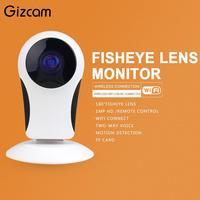 Security Wireless CCTV Fisheye WiFi IP Mini Camera P2P IR Night Vision