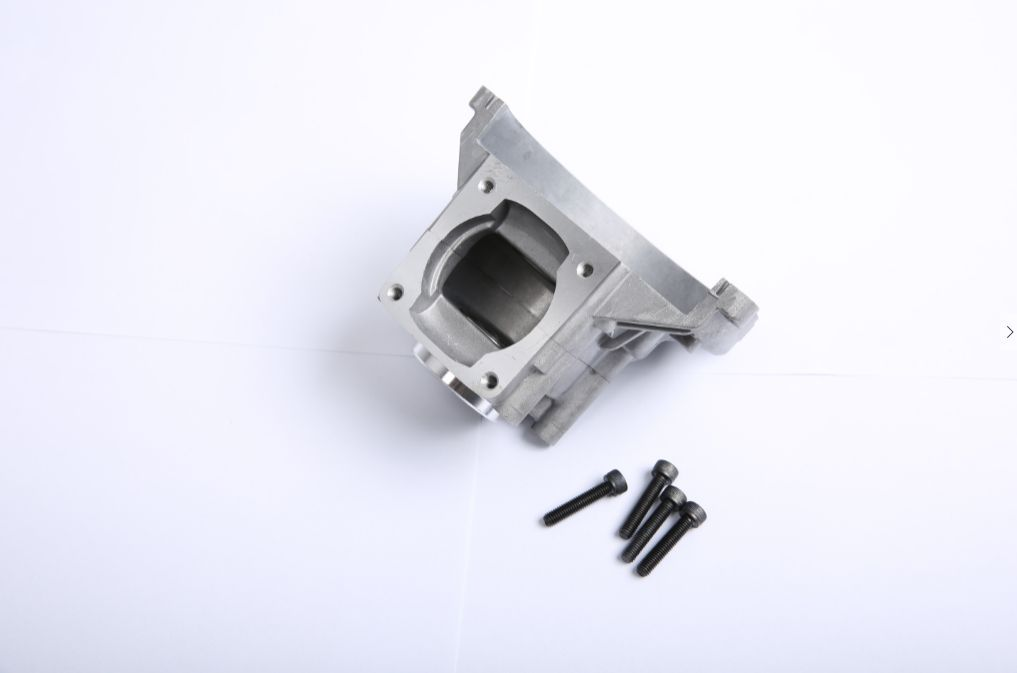 32CC 4 bolt crankcase with bearing and oil seal for CY Zenoah rovan engines For 1/5 hpi BAJA 5B 5T 5SC losi rc car parts 1 5 rc car cnc metal front shock absorber set for 1 5 scale rovan hpi losi 5t parts