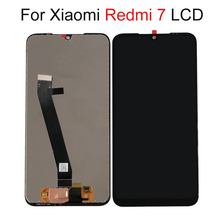 цена на Original 6.26 For Xiaomi Redmi 7 LCD Display Screen Touch Screen Panel Digitizer Assembly For Redmi 7 Display High Quality
