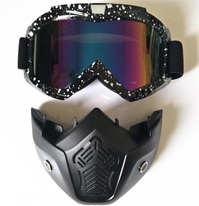 Men Women Outdoor Skiing & Snowboarding Eyewear Motorcycle Motocross Racing Goggles Outdoor Sports Glasses Winter Mask Sunglasse