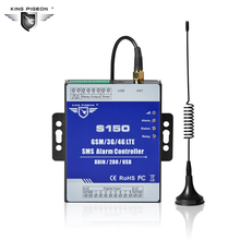 SMS Remote Control Alarm Unit 3G 4G LTE Cellular Telemetry IIot RTU Module Supports Status Recovery alert for Tank control S150